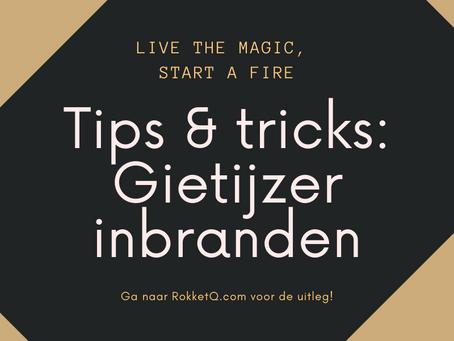 Tips & Tricks: Gietijzer inbranden
