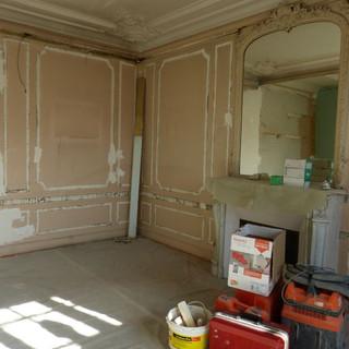 photo avant rénovation totale