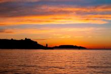 Coucher de soleil sur Marseille