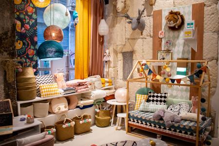 Boutique de Sophie Ferjani la sélection, à Marseille, décoratrice d'intérieur M6