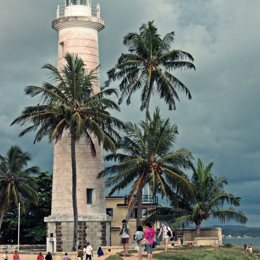 Phare de Galle au Sri Lanka