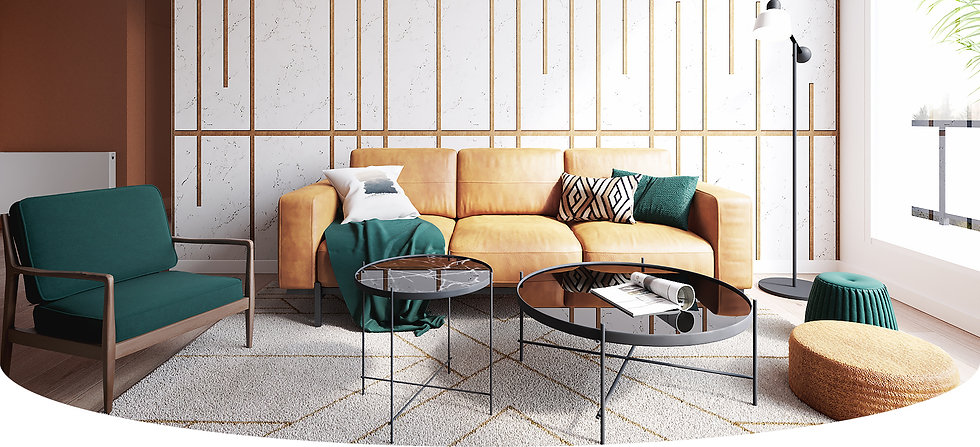 Aménagement et décoration d'une pièce de vie à Talloires par le studio Coralie Vasseur, architecte d'intérieur à Annecy