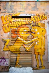 Quartier du Panier de Marseille et ses fresques Street Art Love Jauneration