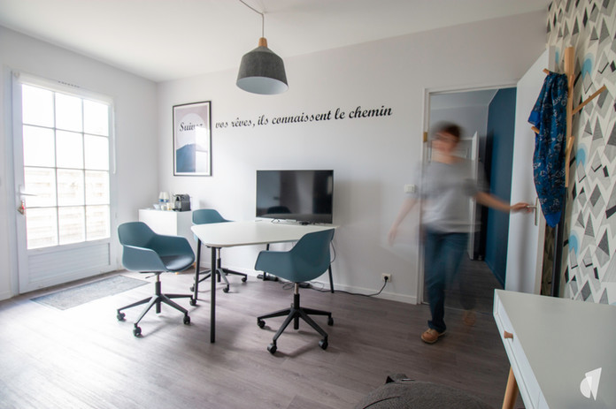 Decoration of the offices of a recruitment agency in Chantilly