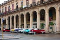 Voitures anciennes de Cuba tout en couleur