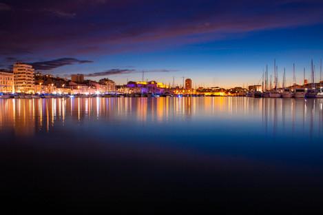Vieux Port de Marseille by night