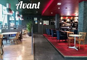 restaurant eap's café Compiègne avant travaux