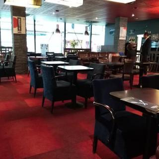 bar restaurant avant travaux