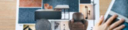 planche d'ambiance style industriel pour bureau de direction d'un centre de formation à Compiegne