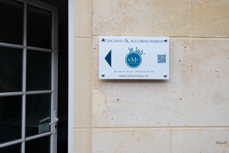 Aménagement et décoration des bureaux du cabinet de ressources humaines BMC à Chantilly, par Carnets Libellule. Coralie Vasseur est votre architecte d'intérieur UFDI à Compiegne : le lab' BMC Chantilly