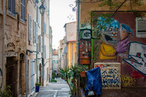 Quartier du Panier de Marseille et ses fresques Street Art