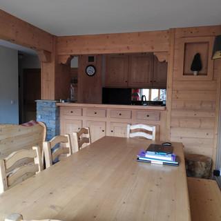 Chalet Val d'Isère avant rénovation et décoration