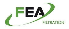 Logo FEA Filtration par Pesto Studio