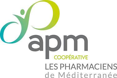 Logo Coopérative APM par Pesto Studio
