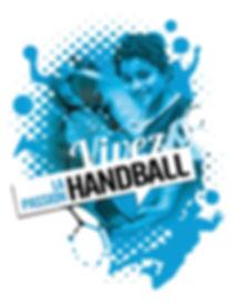 Flyer Marseille Nord Handball par Pesto Studio