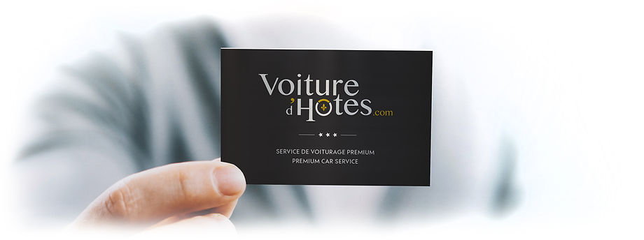 Logo Voiture d'Hôtes par Pesto Studio