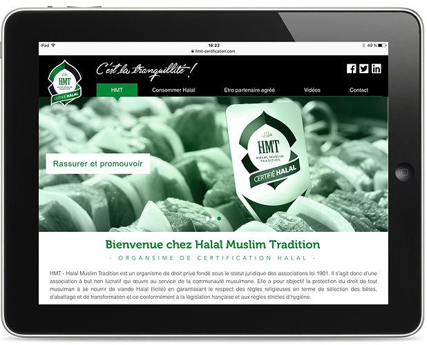 Site internet HMT par Pesto Studio