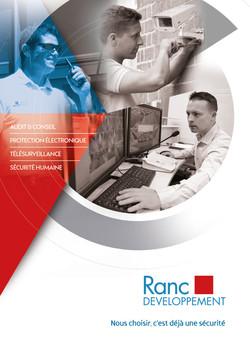 Brochure Ranc Développement par Pesto Studio
