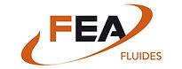 Logo FEA Fluides par Pesto Studio