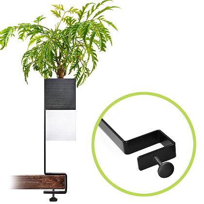 Support for desk + 1 Capill'O Cube Black/White pack