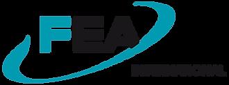 Logo FEA International par Pesto Studio
