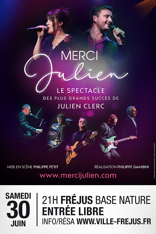 Affiche Merci Julien par Pesto Studio