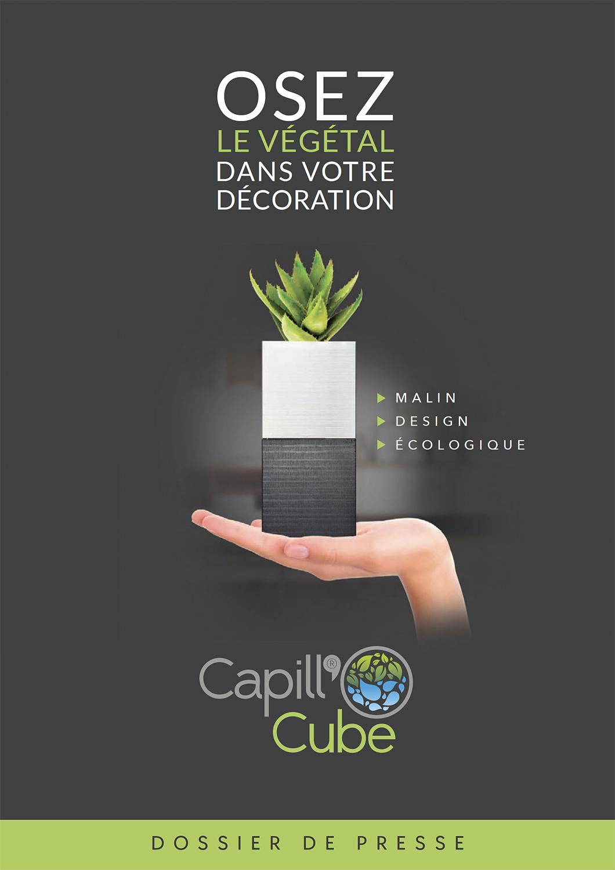 Brochure Capillo Cube par Pesto Studio