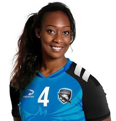 Marie-Paule Gnabouyou, marraine de Marseille Nord Handball