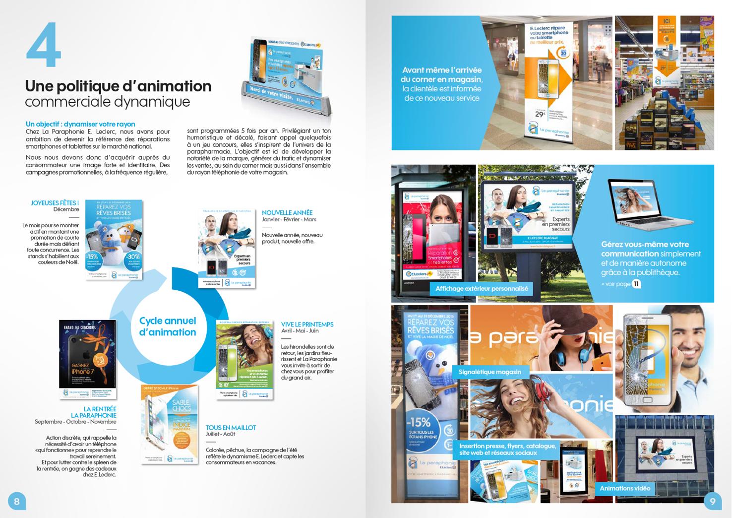 Brochure La Paraphonie par Pesto Studio