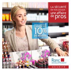 Flyer Ranc Développement par Pesto Studio