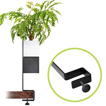 Support de bureau + 1 Capill'O Cube Blanc/Noir