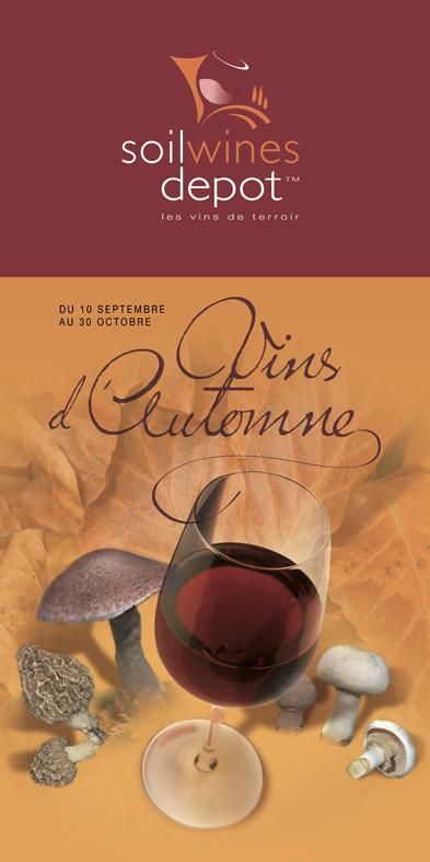 Affiche Soilwines par Pesto Studio