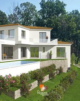 Plan de maison contemporaine by Les Maisons du Soleil
