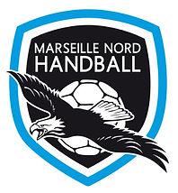Logo Marseille Nord Handball par Pesto Studio