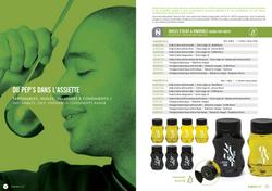 Brochure A'rom par Pesto Studio