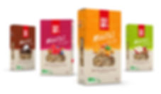 Design Packaging gamme Mulesli de Mulebar par Pesto Studio