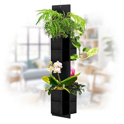 Mobile végétal XL pots noirs