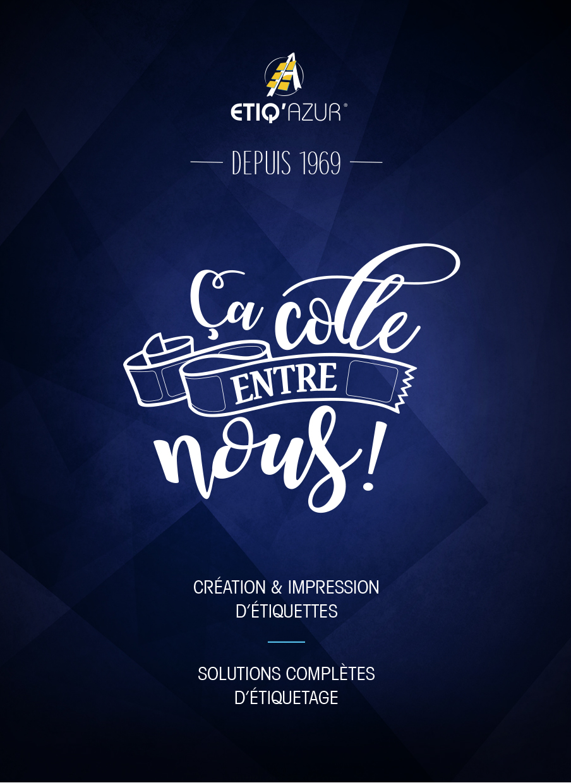 Brochure Etiq'Azur par Pesto Studio