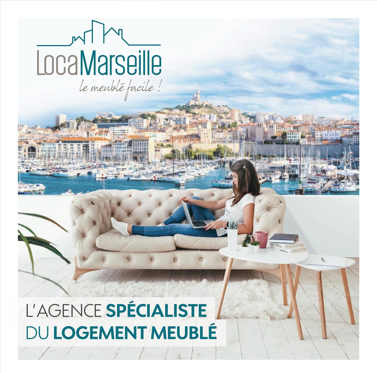 Flyer LocaMarseille par Pesto Studio