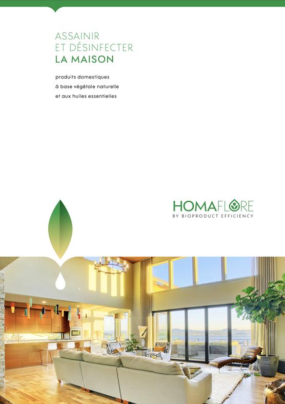 Brochure Homaflore par Pesto Studio