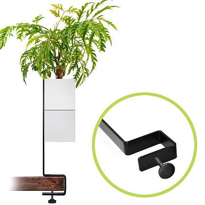 Support for desk + 1 Capill'O Cube White/White pack