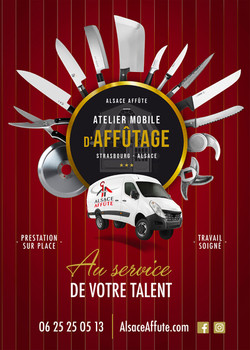 Flyer Alsace Affute par Pesto Studio