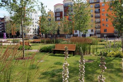 Greenwich Millennium Village Central Oval Master Plan