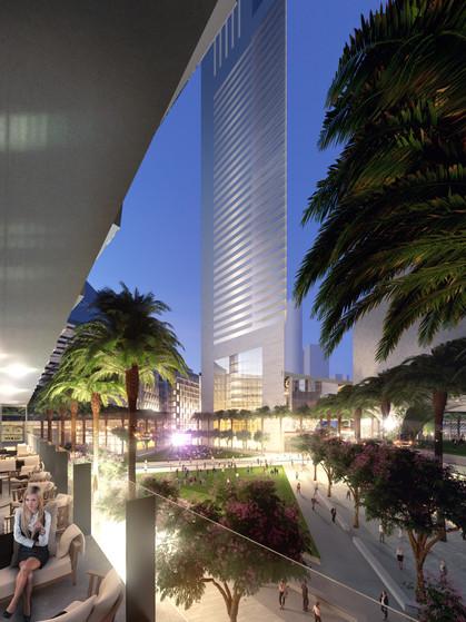 Dubai CBD Master Plan