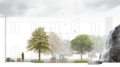 Salem Rehabilitation Courtyards