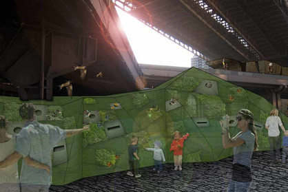B3 Brooklyn Bridge Bouldering Wall