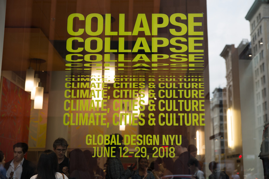 NYU Exhibition Sculpture Piece