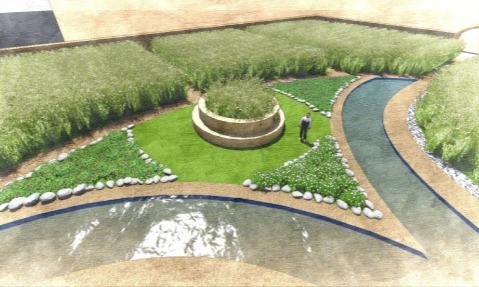 Eden in Iraq Wastewater Treatment Park