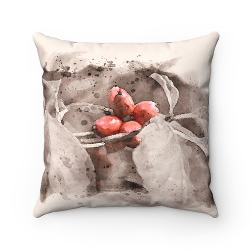 Berry Watercolor Pillow