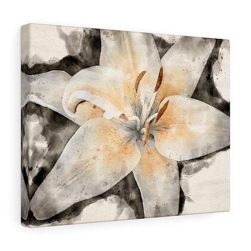 Lily Watercolor Canvas